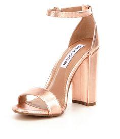 abbe971d07ec Shop for Steve Madden Carrson Metallic Banded Ankle Strap Block Heel  Sandals at Dillards.com. Visit Dillards.com to find clothing