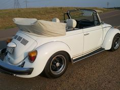 1977 Volkswagen Beetle Convertible Champagne Edition