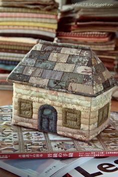 Шкатулка -домик учебник