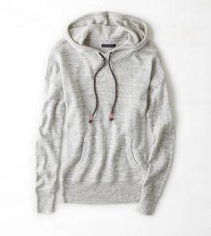 Oatmeal AEO Sweater Hoodie