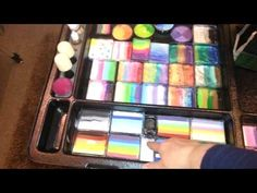 Great face painting supplies & kit + Product infos / Face Painting Made Easy PART 1 - YouTube