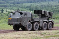 RM-70 122 mm Multiple Rocket Launcher (Czech Republic)