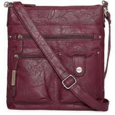 Rosetti Skyler Mid Crossbody Bag (€31) ❤ liked on Polyvore featuring bags, handbags, shoulder bags, crossbody purses, pocket purse, shoulder strap handbags, rosetti and cross body strap purse