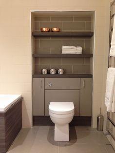 Salle de bains WC Brun/marron Jaune/orange SENSEA | les wc ...