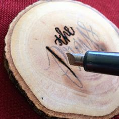Lisa loves John: DIY: Wood-burned Coasters