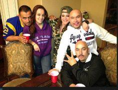 Jenni Rivera & Her Family