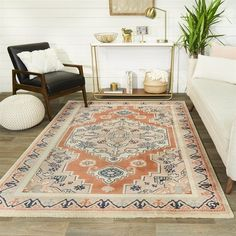 Rugs Direct Teppich Wolle Beige 110 x 160 cm