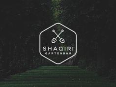 Shaqiri Gartenbau - Case Study by Nikola Matošević ... Corporate identity, Full branding, Custom logo designer, Professional logo design,