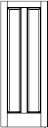 Line-Drawing-2-raised-wood-panel-vertical | Woodport Doors