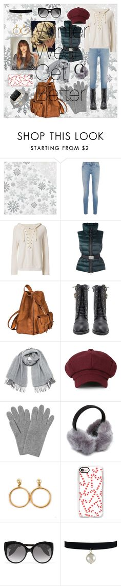 """""""Winter Wear"""" by shanastar ❤ liked on Polyvore featuring Kaisercraft, Givenchy, NSF, Moncler, Yves Saint Laurent, Vero Moda, L.K.Bennett, Chanel, Casetify and Alexander McQueen"""