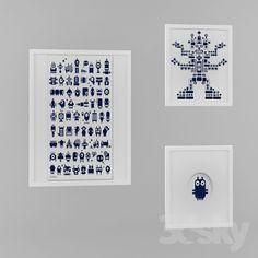 A set of fun frames