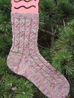 Ravelry: Zig then Zag Socks pattern by Monica Jines