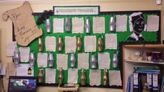 Florence nightingale old letter display Teaching Displays, Class Displays, Classroom Displays, Florence Nightingale Facts, Florance Nightingale, Ks1 Classroom, Maths Display, People Who Help Us, Primary English