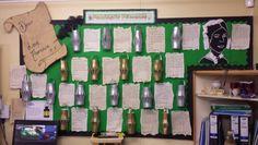 Florence nightingale old letter display Teaching Displays, Class Displays, Classroom Displays, Florence Nightingale Facts, Florance Nightingale, Ks1 Classroom, Classroom Ideas, Maths Display, People Who Help Us