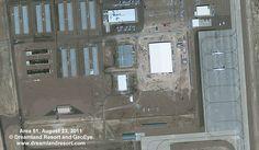 Area 51 Satellite Image, August 23, 2011