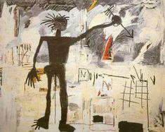 Self portrait (Jean Michel Basquiat) Jean Michel Basquiat, Jm Basquiat, Joe Louis, Basquiat Paintings, Wall Hanging Crafts, Expressionist Artists, Keith Haring, Famous Artists, Graffiti Art