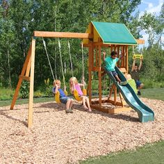 Big Backyard Meadowvale II Wooden Play Set