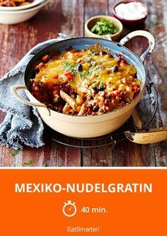 Mexiko-Nudelgratin - smarter - Zeit: 40 Min. | eatsmarter.de