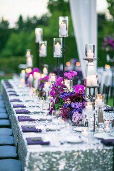 Ryan Phillips Photography via CeremonyBlog.com  [Location | Caterer] Sherwood Country Club [Wedding Consultant] Bella Vita Events [Floral Design] Santa Barbara Style [Linens] La Tavola [Rentals | Lighting] Town & Country Rentals