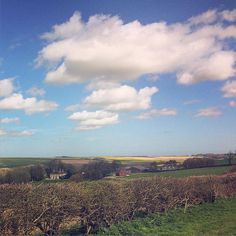 The Lincolnshire Wolds and it's spectacular rolling countryside is just a short car drive from Seaside Lodge.