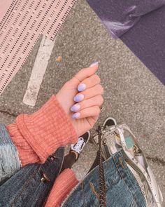 "Briana Alvarez Dariy on Instagram: ""Ombré purple is my mood 💜"" Clear Handbags, Fingerless Gloves, Arm Warmers, Mood, Purple, Instagram, Fashion, Fingerless Mitts, Moda"