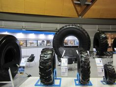 MAXAM Tires exhibited @ AIMEX Sydney 08/2013 #Maxam #MaxamTire #Tire #Tyre #Tires #Show #AIMEX #Sydney #Australia #Stamford #Exhibition #OTR #Solid #Pneumatics #Industrial #Construction #Mining #Smooth #Running