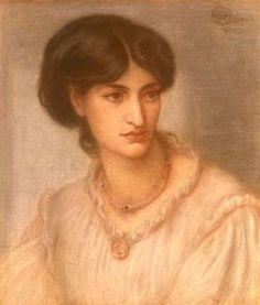 Dante Gabriel Rossetti - Mrs. Coronio