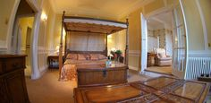 Master Suite at Buckland Tout-Saints Hotel
