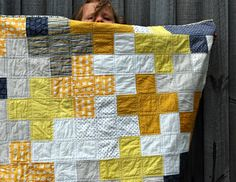 Baby Quilt. Like the design...not necessarily the colors..