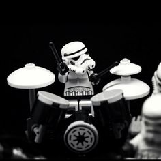 Storm Troopers just want to Bang the DRUMS all day !