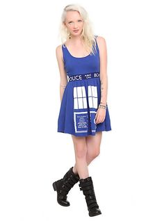 Doctor Who Her Universe TARDIS Costume Dress | Hot Topic