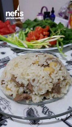 Kabune Pilavı (Süper Lezzet) - Nefis Yemek Tarifleri - Receta de arroz - Las recetas más prácticas y fáciles Yummy Recipes, Meat Recipes, Snack Recipes, Yummy Food, Healthy Meats, Healthy Eating Tips, Healthy Snacks, Toast Pizza, Vegetable Soup Healthy