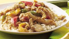 Peanut butter mixed into this chicken-strip and vegetable stir fry lends an authentic peanut oil flavor that is simply delicious served over white rice.