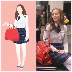 Mode Gossip Girl, Estilo Gossip Girl, Gossip Girl Outfits, Gossip Girl Fashion, Gossip Girls, Estilo Blair Waldorf, Blair Waldorf Outfits, Blair Waldorf Gossip Girl, Blair Waldorf Style