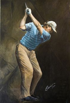 Ernie Els at the Farmers by Mark