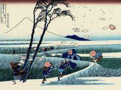 The Great Wave: 10 things you didn't know about Hokusai. Fuji, InsideJapan looks at Hokusai, painter of The Great Wave off Kanagawa, Hokusai Paintings, Monet, Monte Fuji, Art Occidental, Art Asiatique, Traditional Japanese Art, Great Wave Off Kanagawa, Katsushika Hokusai, Art Japonais