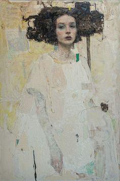 Abstract Portrait, Portrait Art, Figure Painting, Painting & Drawing, Figurative Art, Art Inspo, Contemporary Art, Art Gallery, Illustration Art