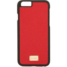Dolce & Gabbana Women Dauphine Leather Iphone 6 Case