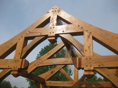 New House Building Ideas Kitchen Storage Building A House DIY Fire Pits Product Timber Frame Homes, Timber House, Timber Frames, Secret Rooms In Houses, Roof Trusses, Wood Joinery, Pergola With Roof, Post And Beam, House Roof