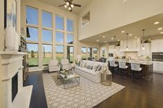 Perry homes firethorne model home design 4931s in katy for Firethorne builders