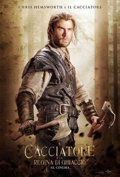 Chris Hemsworth in The Huntsman: Winter's War Chris Hemsworth Thor, Movie Sequels, Movie Tv, Teaser, Snow White Huntsman, Hemsworth Brothers, Romantic Comedy Movies, Martial Arts Movies, Star Wars