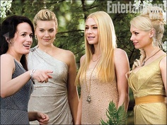 Esme Cullen greets the Denali Coven at Edward and Bella's wedding in Breaking Dawn Part 1 (official photo).