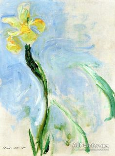 Claude Monet Yellow Iris oil painting reproductions for sale