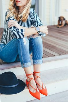 Pick the best flats for your casual outfits. Heres a collection of the most trending flats to add to your outfits.