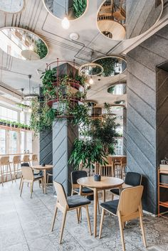 21 Epic & Successful Restaurant Interior Design Examples Around the WorldYou can find Cafe interior design and more on our we.