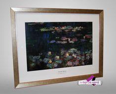 Claude Monet, Frames, Home Decor, Nymph, Decoration Home, Room Decor, Frame, Home Interior Design, Home Decoration