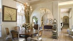 Kirchner design/centerpiece for dining table