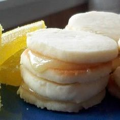 Angel Whispers - These are lemony little sandwich cookies that just melt in your mouth