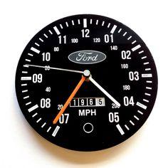 Classic Ford Escort RS2000 Cortina Capri RS2000 retro wall clock custom mancave | eBay