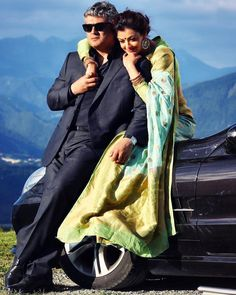 "The third song from Ajith's Vivegam ""Kaadhalada"" is all set to be released today at The song has been written by Kabilan Vairamuthu. Love Couple Images, Couples Images, Couple Photos, Samantha In Saree, Hd Wallpaper Android, Tamil Movies, Film Industry, Celebs, Celebrities"
